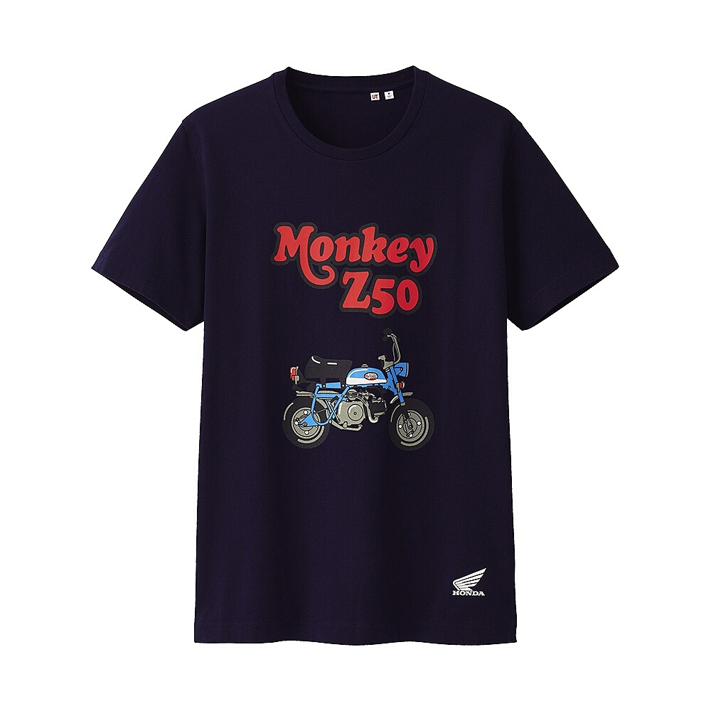 Tee shirts Uniqlo Honda Monkey - mini4temps.fr