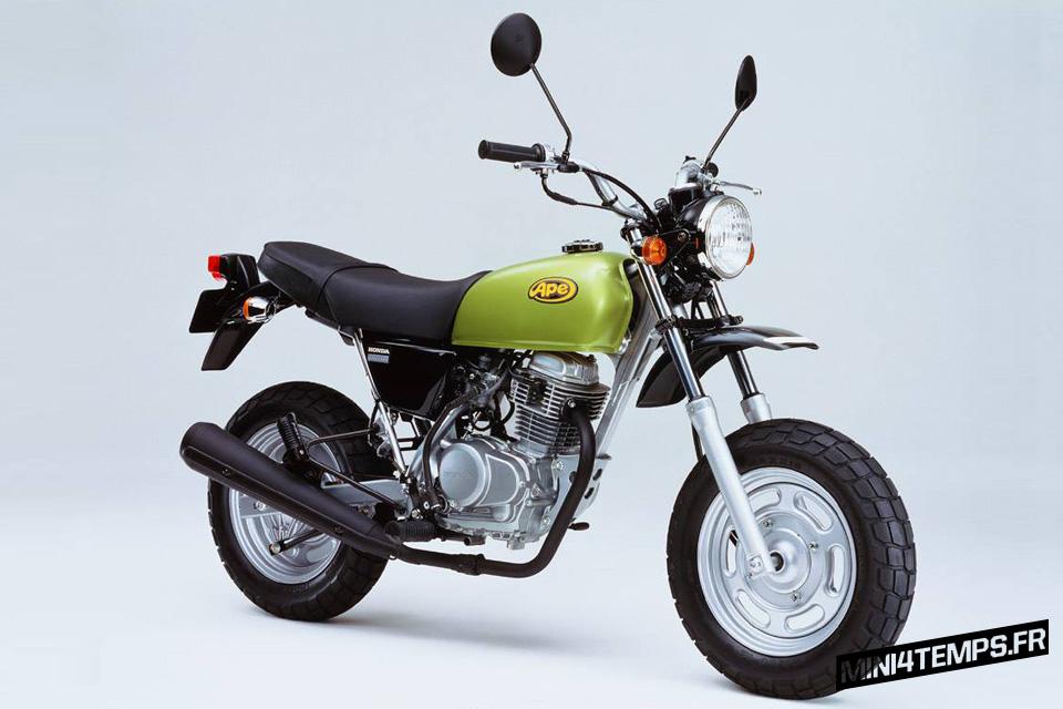 Honda Ape 50 et Honda Ape 100 - mini4temps.fr