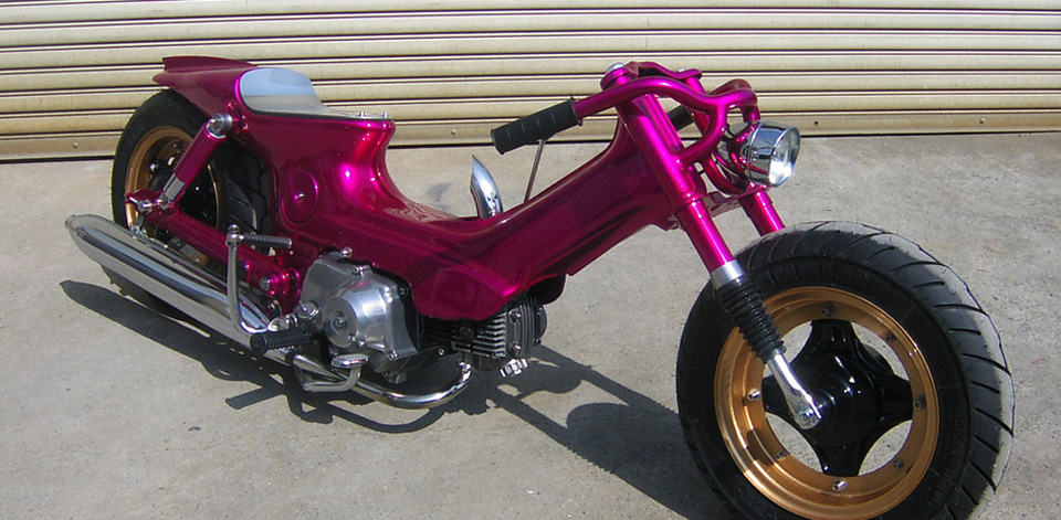 Bodyline Custom Motorcycle - mini4temps.fr