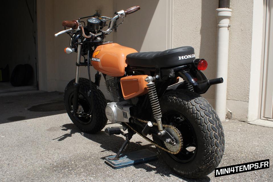 Honda CY80 #FTCBA - mini4temps.fr