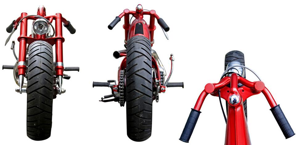 Bodyline Custom Motorcycle - mini4temps.fr