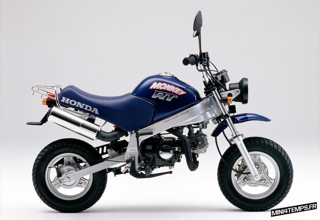 Honda Monkey T Bleu - mini4temps.fr