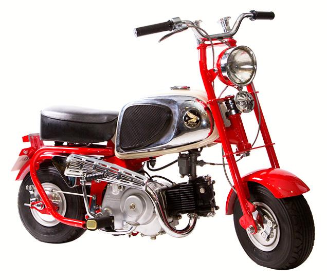 Honda Monkey CZ100 - mini4temps.fr