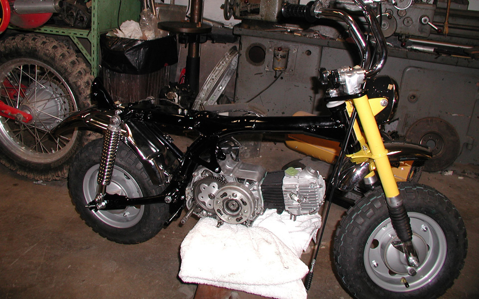 Restauration Honda Monkey Z50 J2 - mini4temps.fr