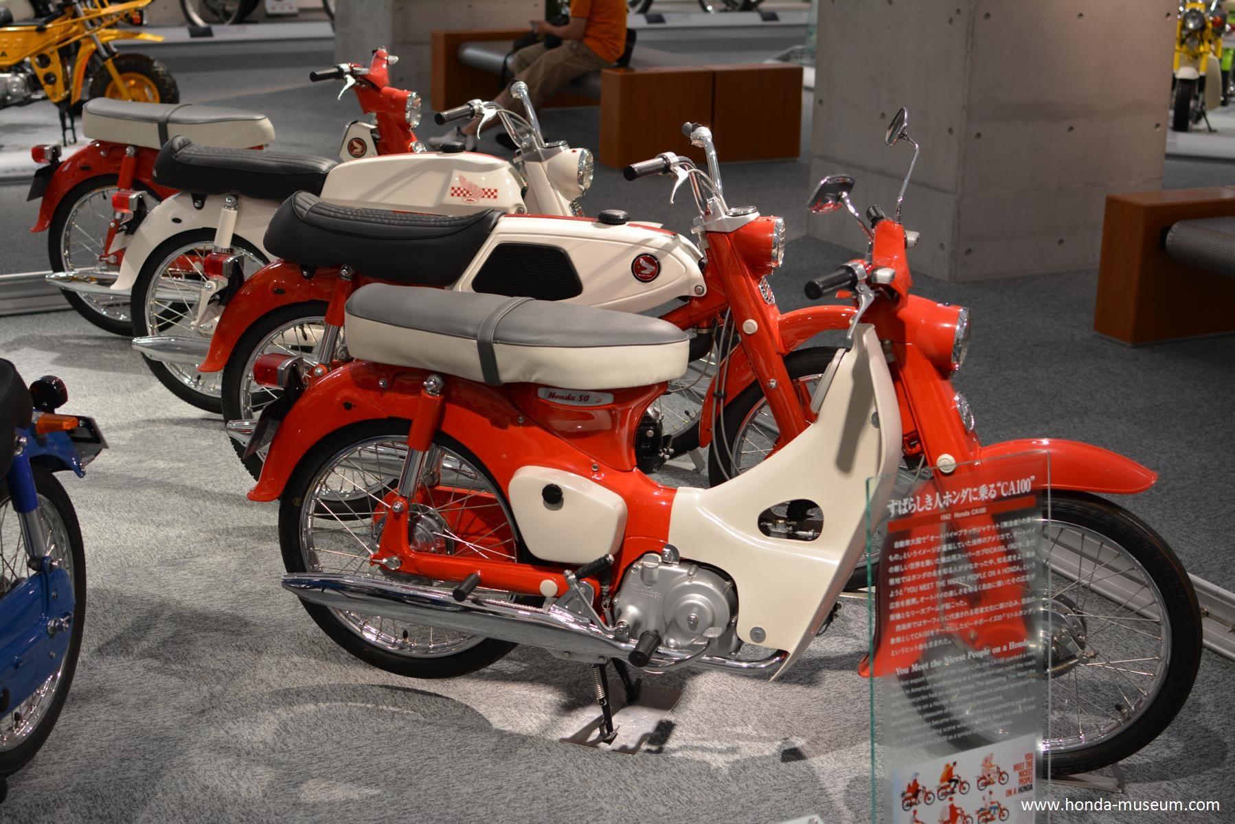 1962 Honda Super Cub Honda Museum - mini4temps.fr