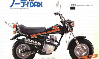Honda Nauty Dax CY50 - mini4temps.fr