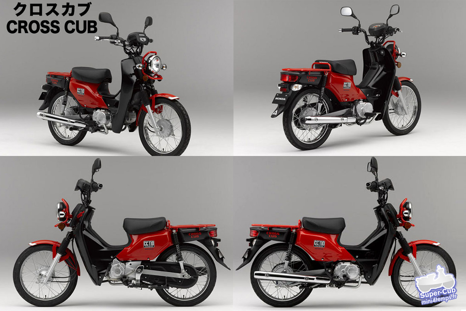 Honda Cub CC110 - mini4temps.fr