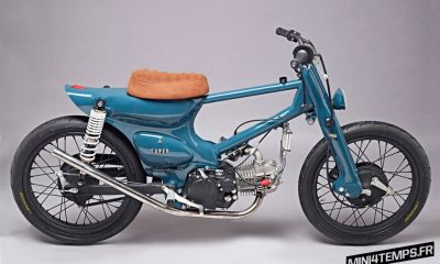 Honda Cub Custom by Salt Shaker - mini4temps.fr