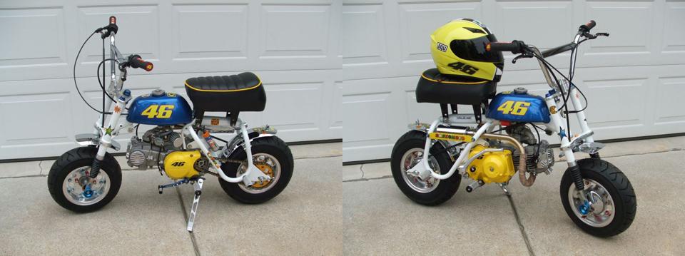 Mike Razzo - Honda Minitrails Honda Monkey Restorer - mini4temps.fr