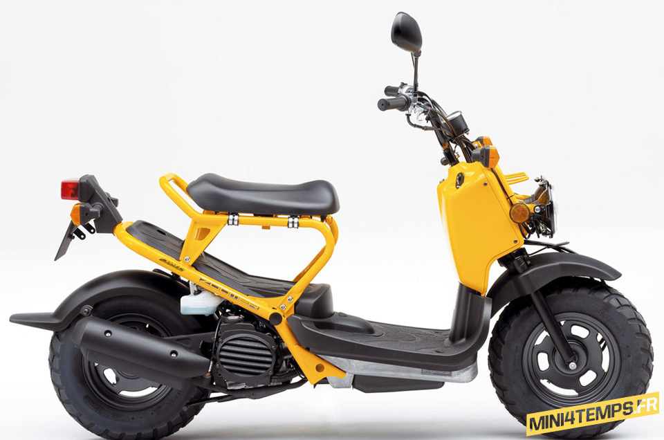 Honda Zoomer et Honda Ruckus - mini4temps.fr