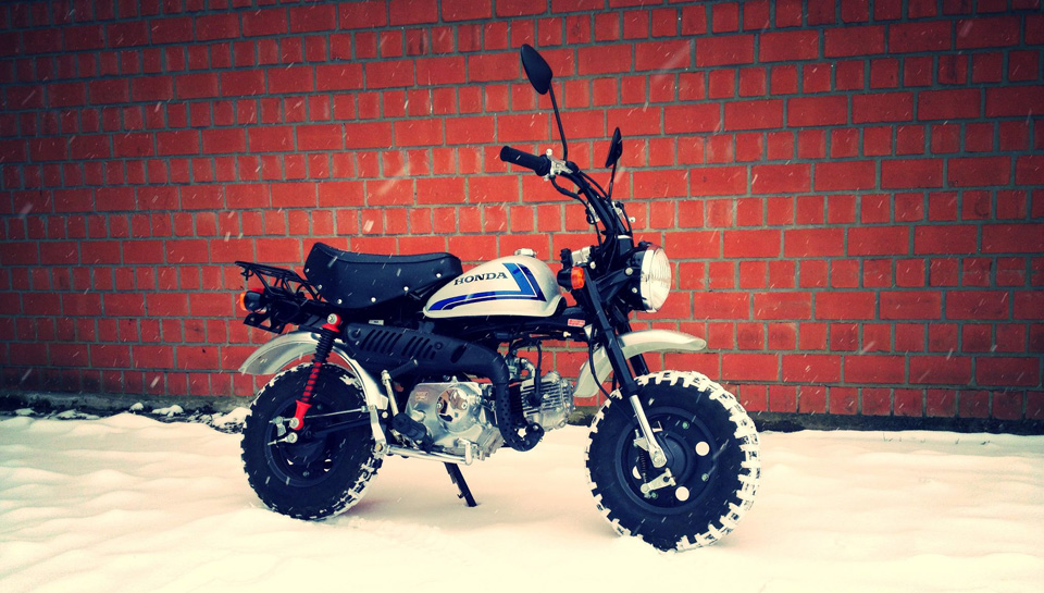 Craftworkz Honda Minibikes Custom - mini4temps.fr