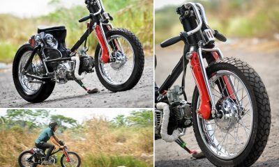 Honda C70 The Eyes by Minority Custom Surabaya - mini4temps.fr