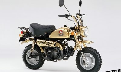 Honda Monkey Z50J Limited Edition Gold 1996 - mini4temps.fr