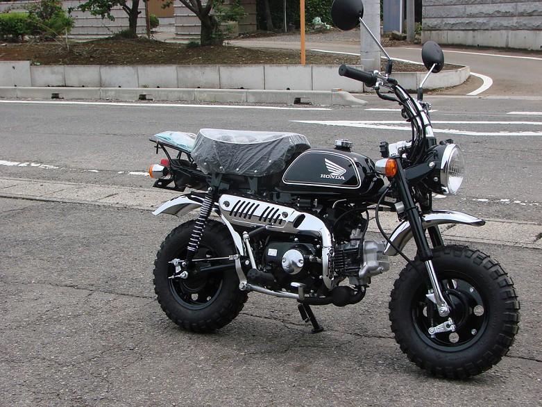 """Honda Monkey Edition Limitée """"Black"""" - mini4temps.fr"""
