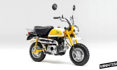 Honda Monkey 2012 Fi Limited Edition - mini4temps.fr