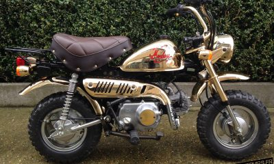 Honda Monkey Z50J Limited Edition Gold 1984 - mini4temps.fr
