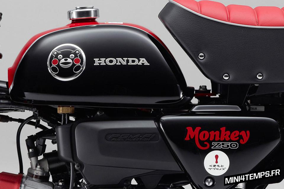 Honda Monkey Kumamon 2014 - mini4temps.fr