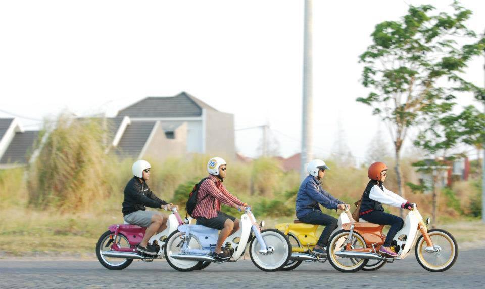 Honda Cub Honda StreetCub Custom Inspiration - mini4temps.fr