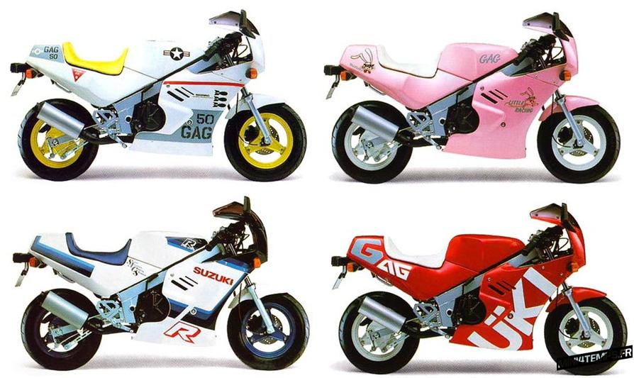 Ancienne publicité pour le Suzuki Gag - mini4temps.fr