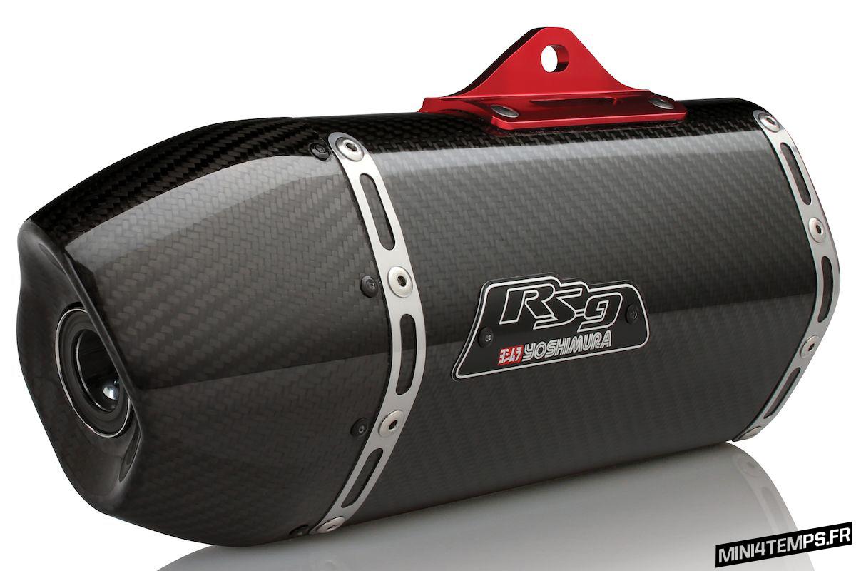 Echappement Yoshimura Slip-On pour Honda MSX 125 - mini4temps.fr