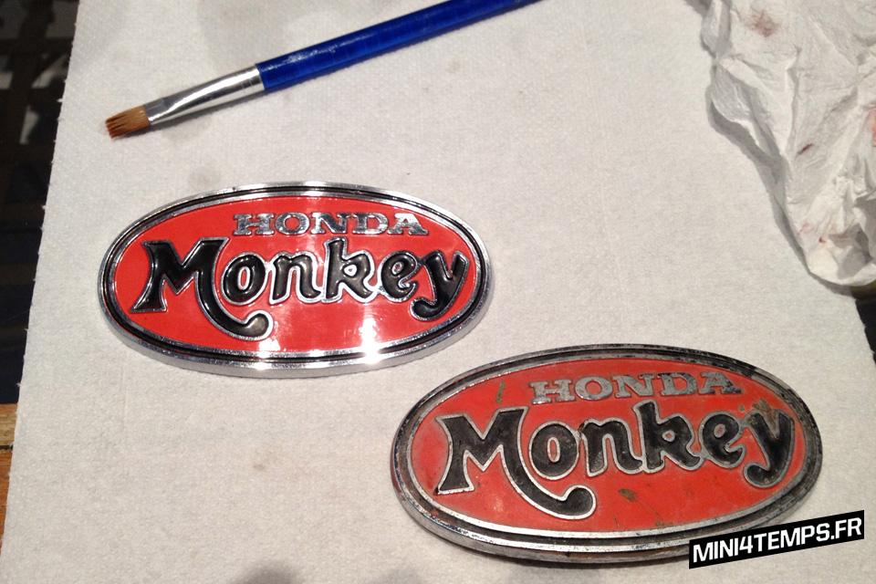 Restauration Honda Monkey Z50A Gulf - mini4temps.fr