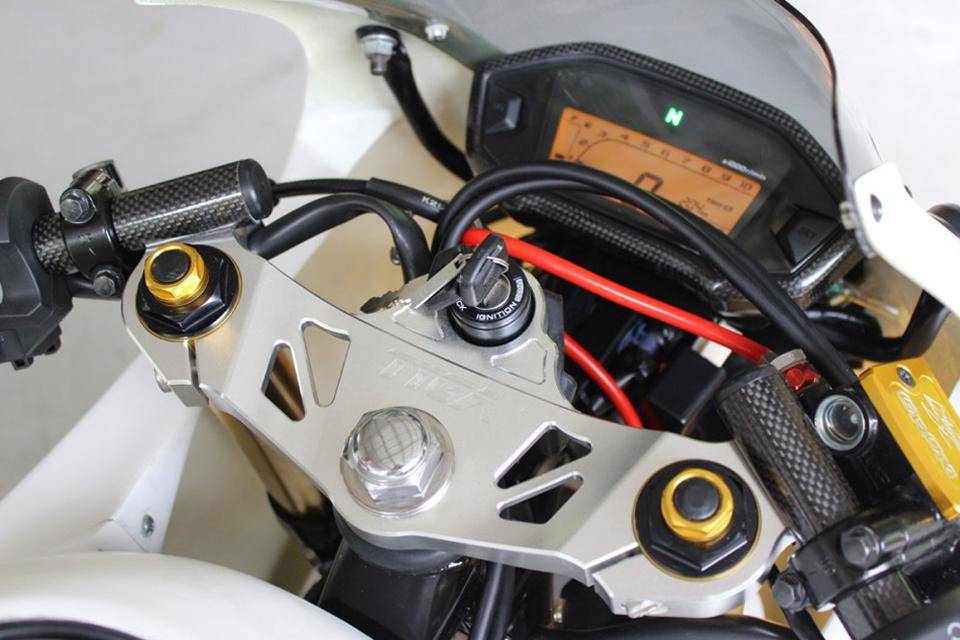 Kit carénage MRX de TYGA pour Honda MSX 125 - mini4temps.fr
