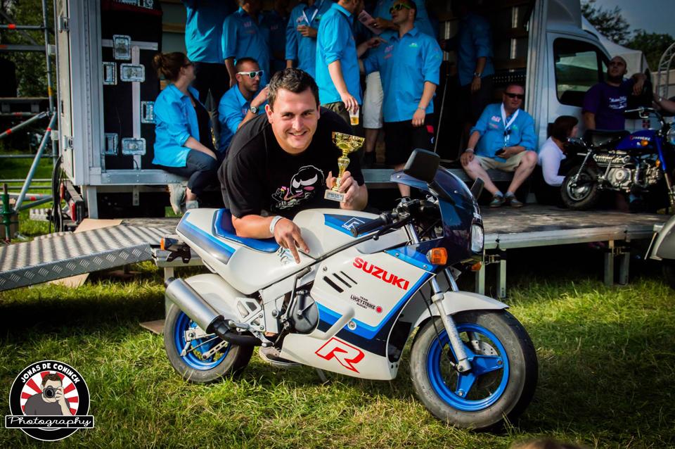 Honda Dax Monkey Meeting Visé 2014 - mini4temps.fr