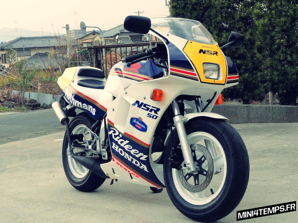 Honda NSR 50 minibike - mini4temps.fr