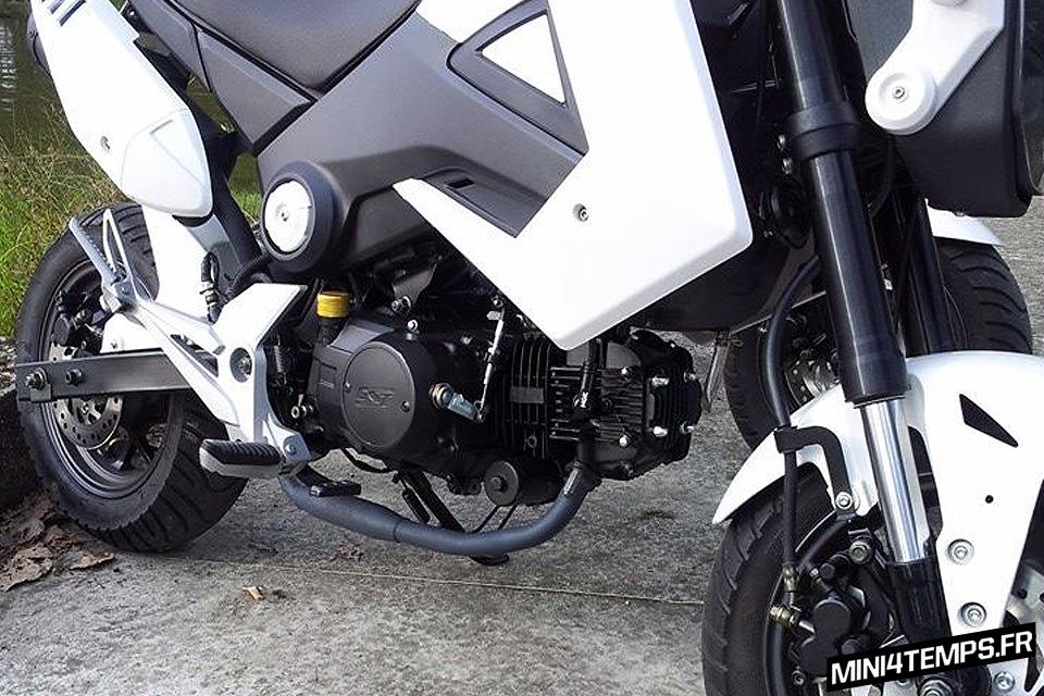 Monter un moteur 125 Lifan sur un Motrac Urban - mini4temps.fr