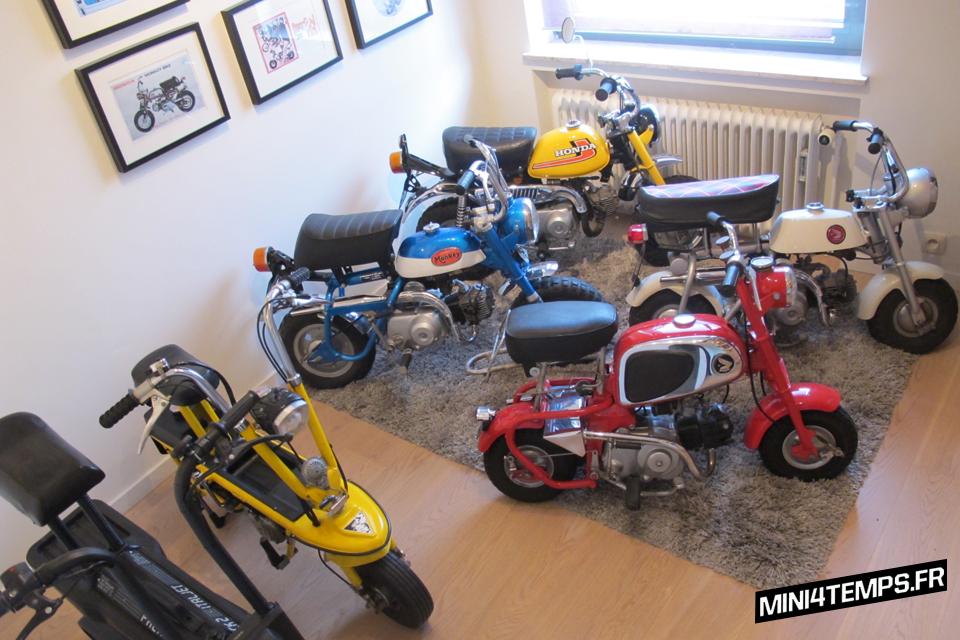 Collection of Honda Monkey Mini4strokes - mini4temps.fr