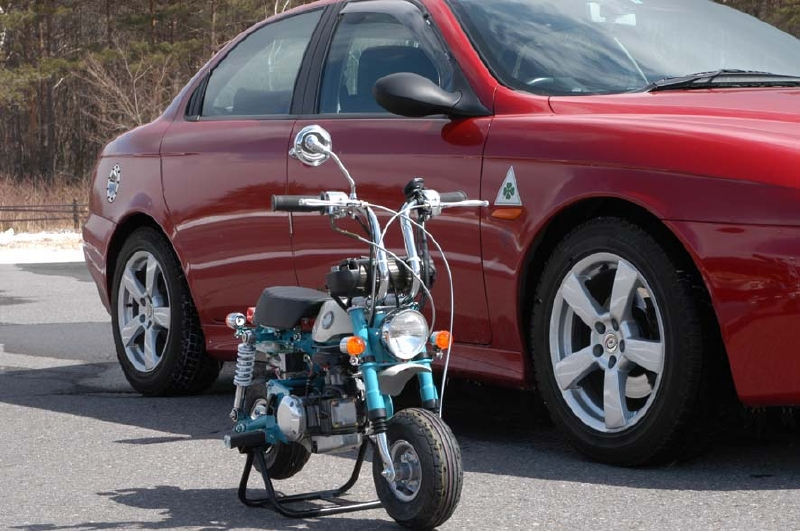 Kozaru X35J Honda Minibikes Replica - mini4temps.fr