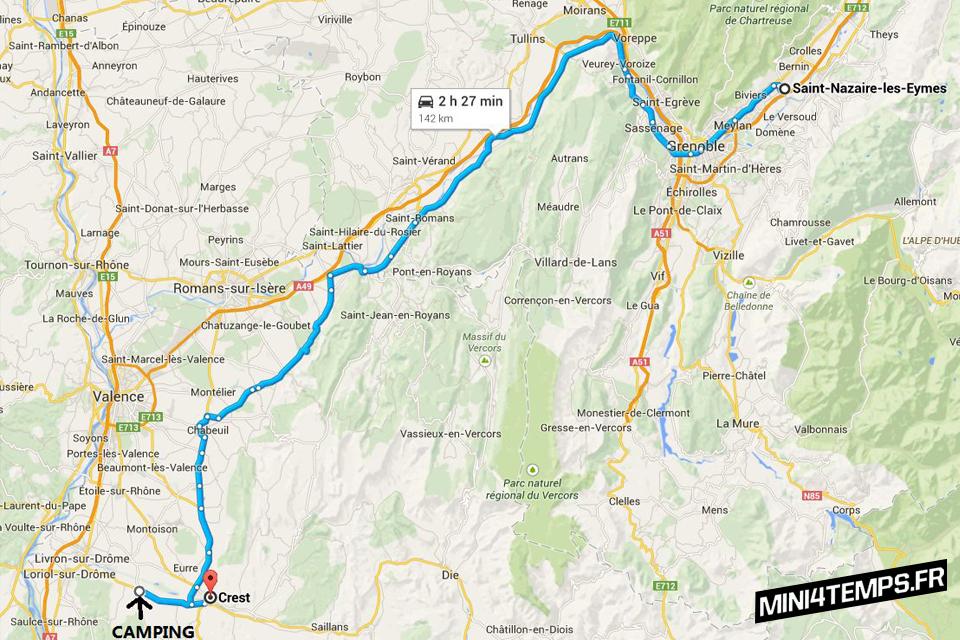 Le road-trip en dax de Gaspard - mini4temps.fr
