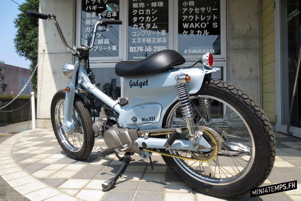ATORIKA521 : Le paradis du Honda SuperCub - mini4temps.fr
