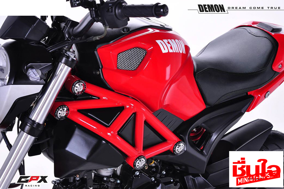 GPX Demon 125 : la mini-Ducati Monster sauce Thaï - mini4temps.fr