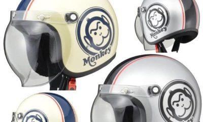 De jolis casques Honda Monkey pour l'été ! - mini4temps.fr