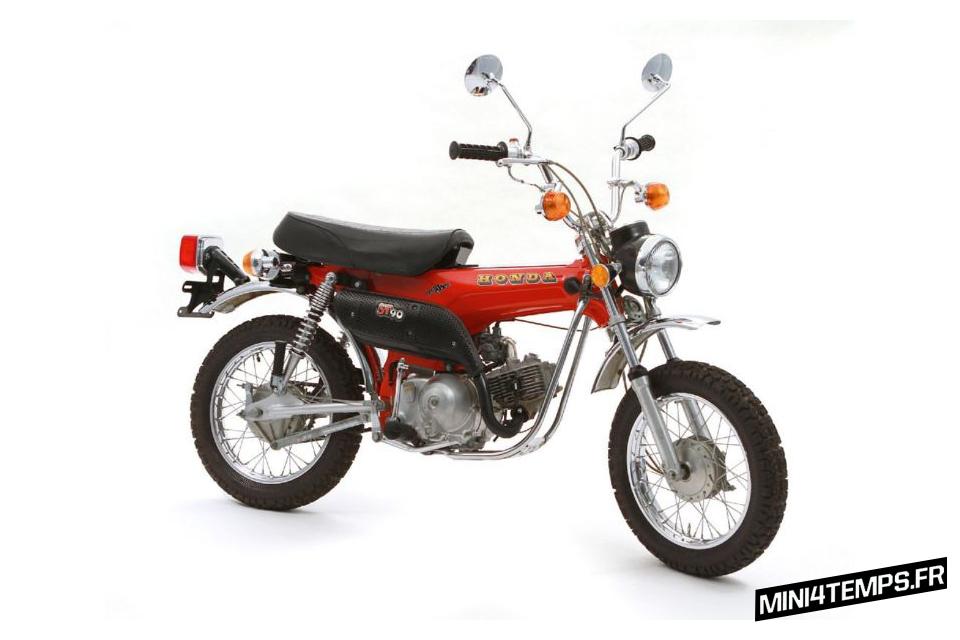 Honda Dax ST90 Trailsport modèle US - mini4temps.fr