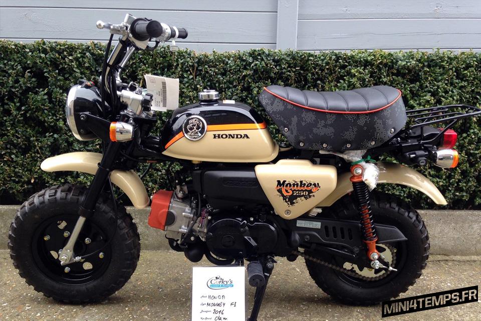 Honda Monkey Adventure Z50 2016 - mini4temps.fr