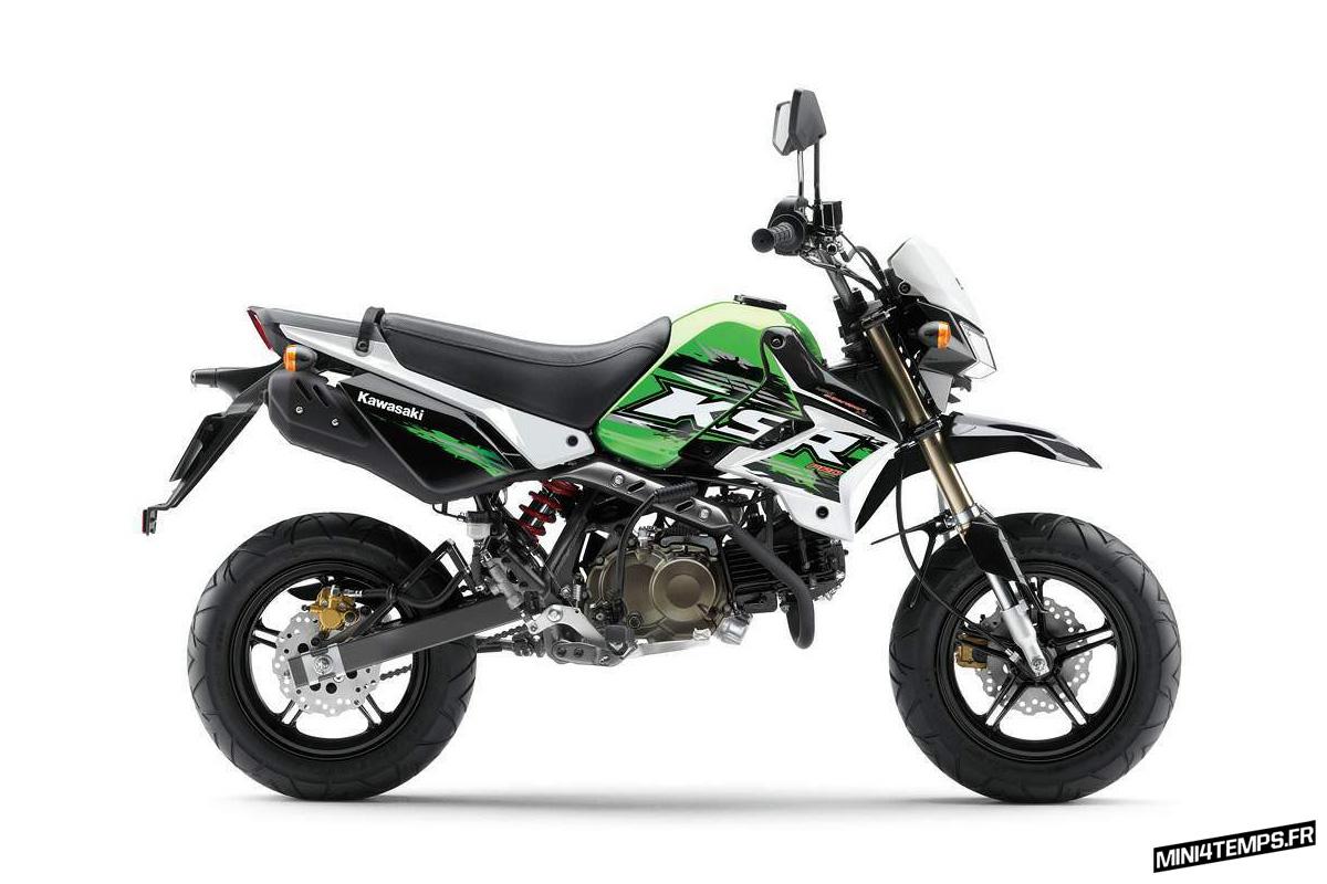 Kawasaki KSR 110 / KSR Pro - Mini4temps.fr