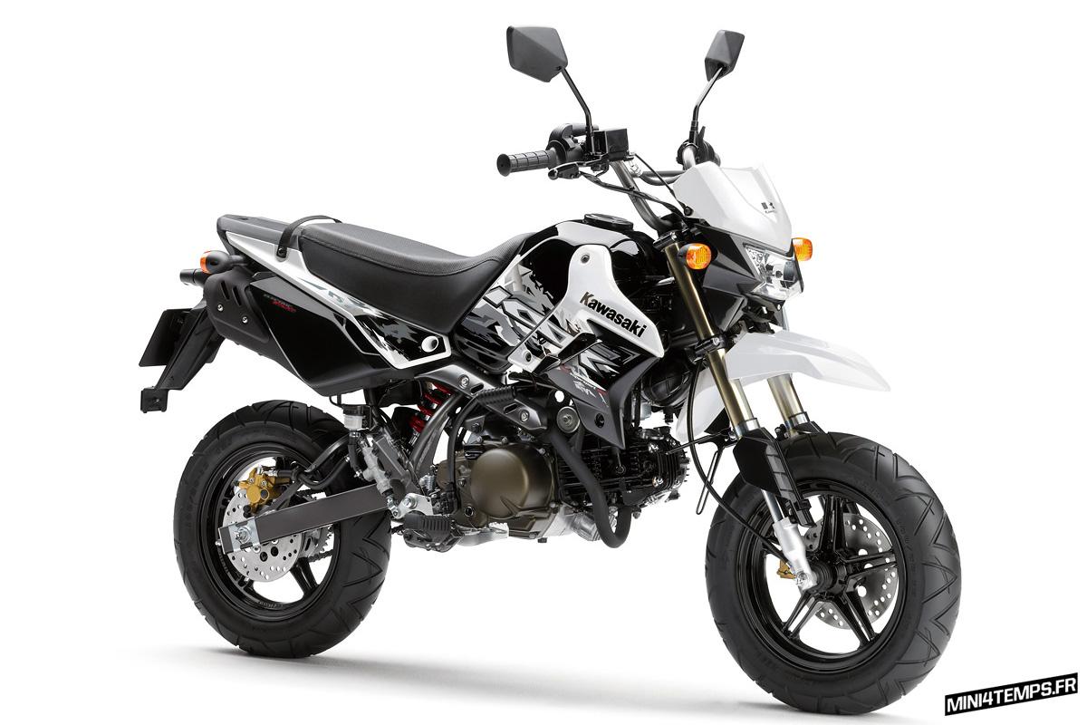 Kawasaki KSR 110 Modèle 2013 - Mini4temps.fr