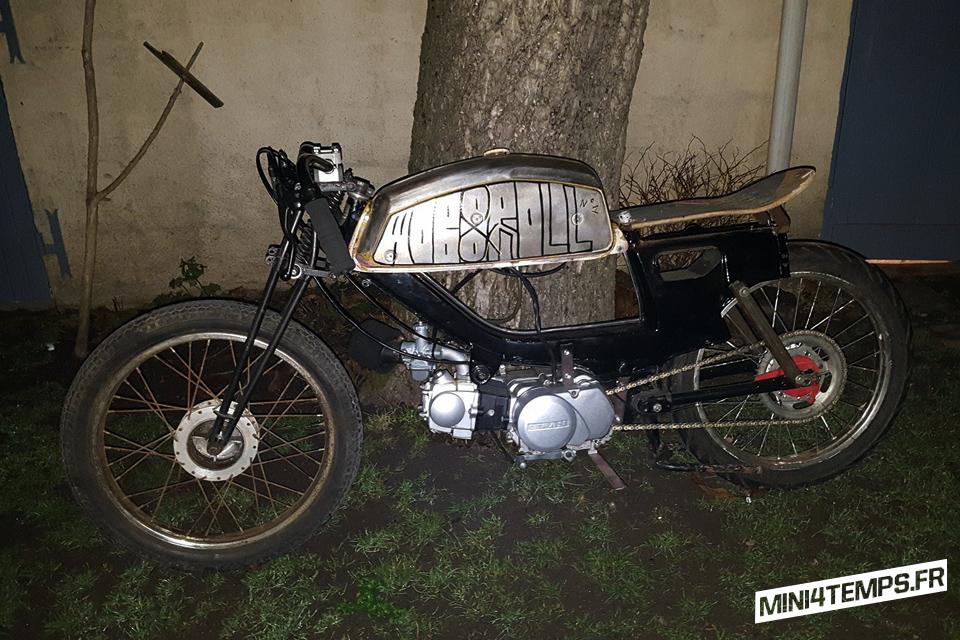 Le dernier projet de Mob and Roll : La Motobecane SP93 Oldschool 50's - mini4temps.fr