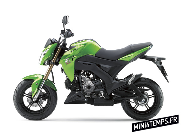 Kawasaki Z125 - mini4temps.fr