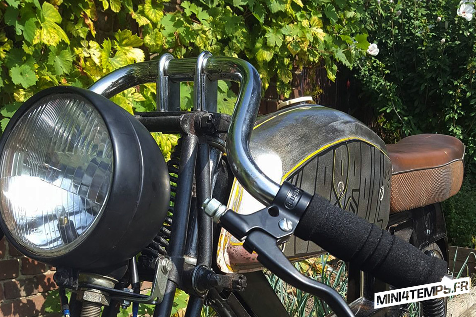 Le dernier projet de Mob and Roll : La Motobecane SP93 Oldschool 50's