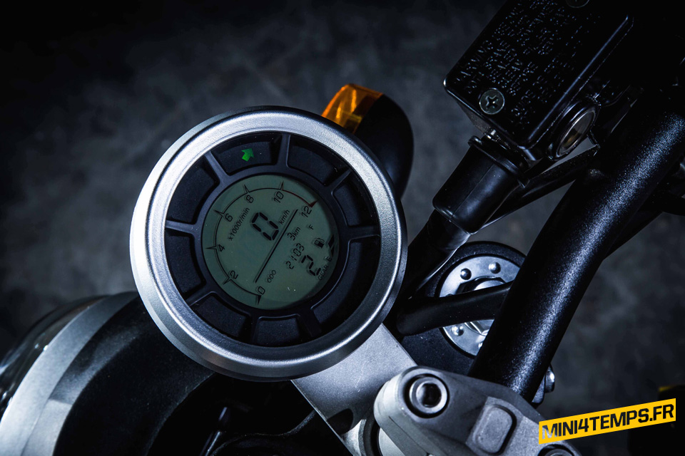 Motrac M6, mini Ducati Scrambler made in China - mini4temps.fr