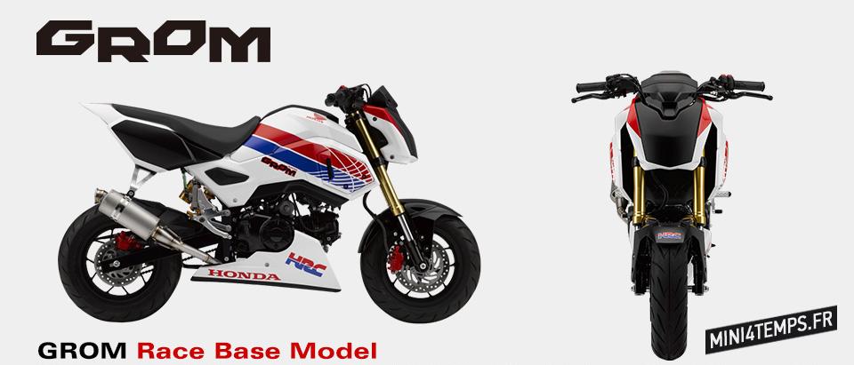 Le HRC s'attaque au Honda MSX 125 - mini4temps.fr