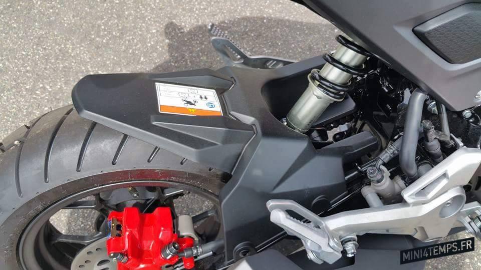 Le Honda MSX 125 2016 débarque en France - mini4temps.fr