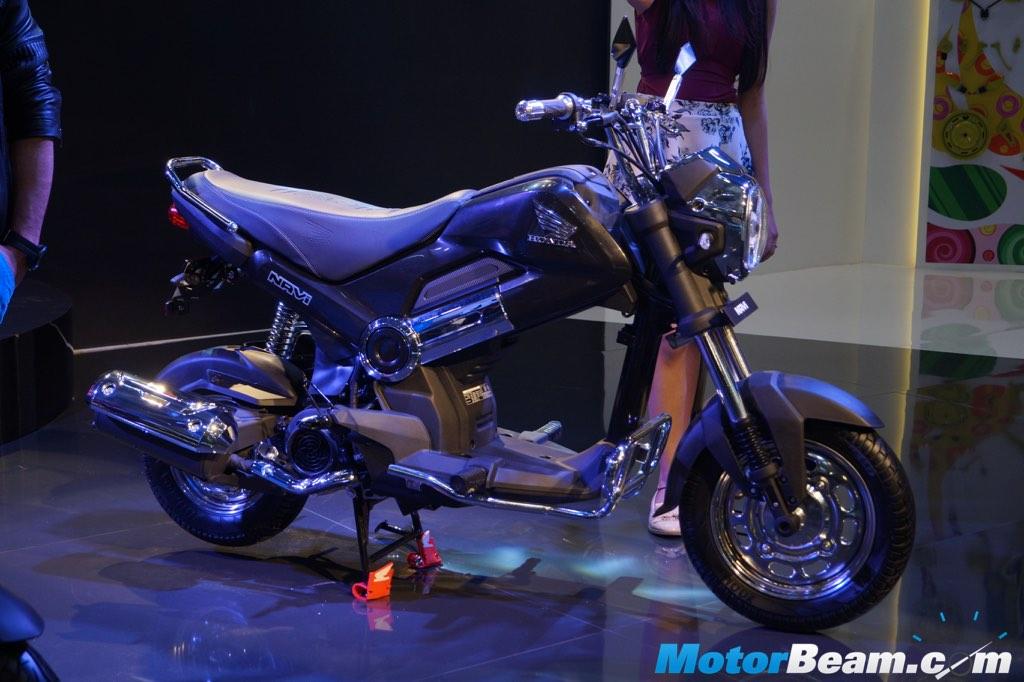 Un Honda Navi pour New Delhi - mini4temps.fr
