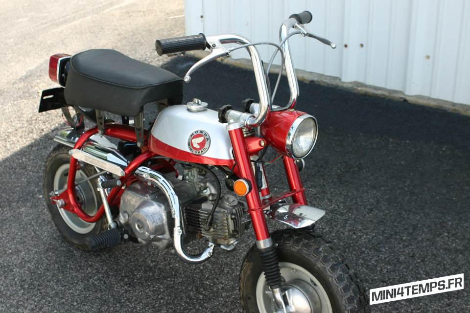 Honda Monkey Z50 Mini-Trail 1969 - mini4temps.fr