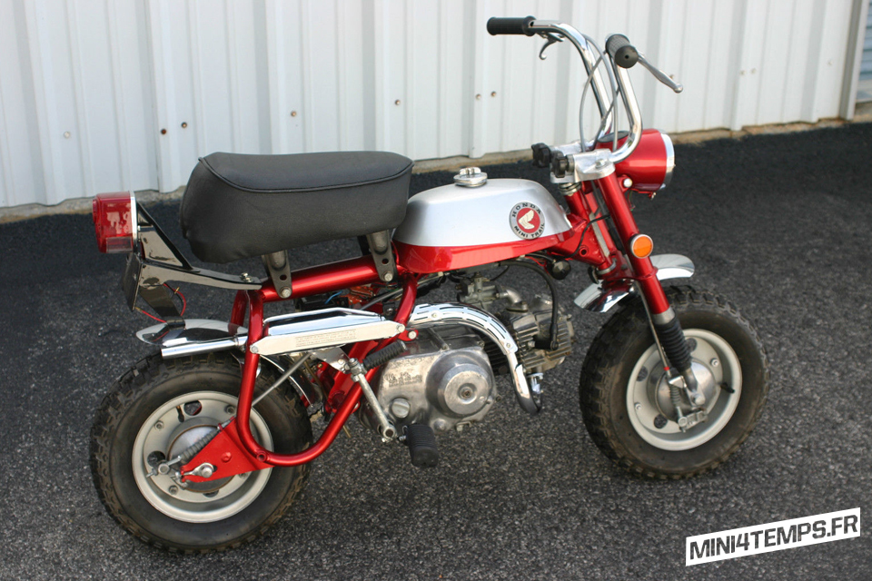 Honda Monkey Z50 Mini-Trail 1969 - mini4temps.fr