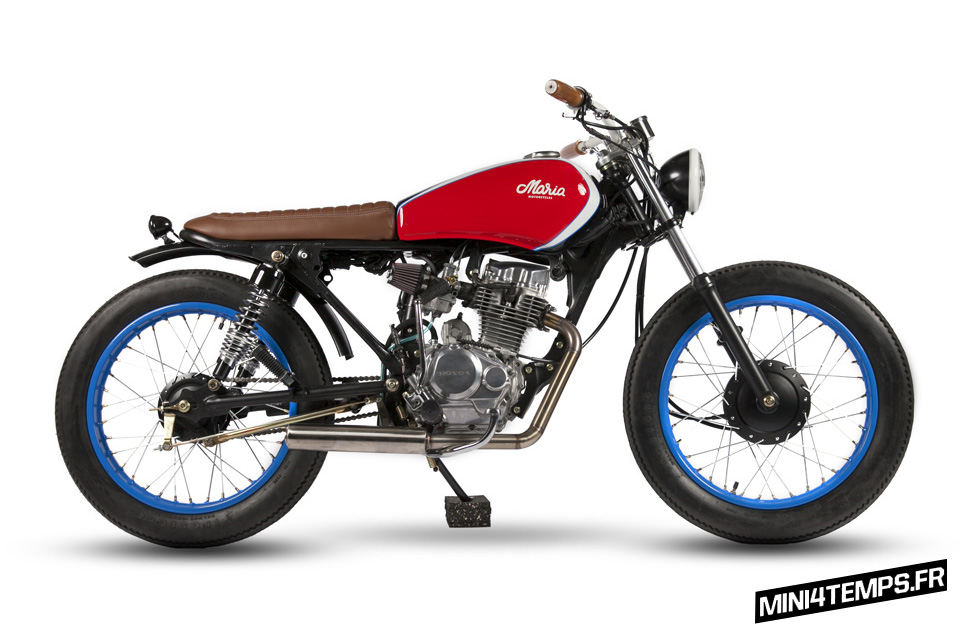 La Honda CG125 Belladonna de Maria Riding Company - mini4temps.fr