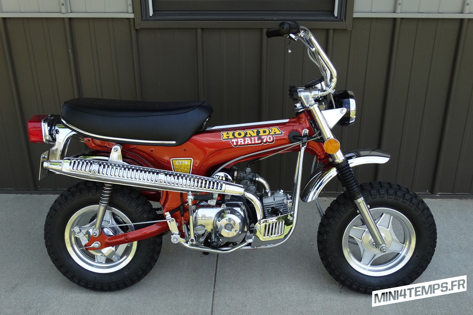 Le Honda CT70 Trail 70 K2 de 1973 de Joe - mini4temps.fr
